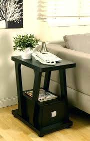 narrow side tables for living room end tables for the living room storage side tables charging end