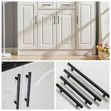 stainless steel kitchen cabinet doors uk t bar door kitchen cupboard cabinet handle drawer stainless