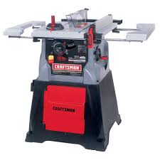 10 In Table Saw Craftsman 24885 10 In Table Saw W Storage Cabinet Sears Outlet