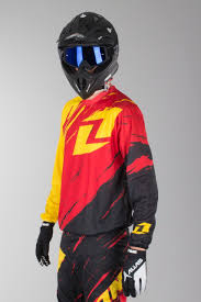 personalised motocross jersey oneindustries vapor lite side swipe motocross jersey red black