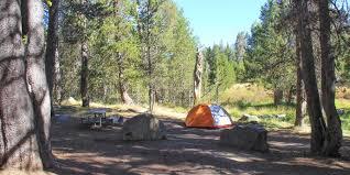 bridalveil creek campground yosemite national park camping in