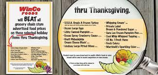 winco thanksgiving savings we ve got them winco