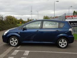 used toyota corolla verso peterborough rac cars