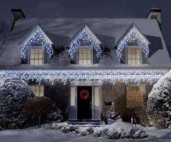 how to hang christmas lights on gutters top tip 3 how to hang icicle xmas lights the yule blog