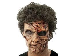 exumed dead zombie pre painted foam prosthetic mask