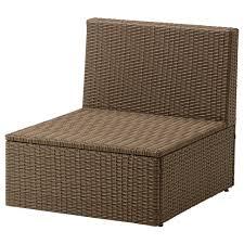 Converting Outdoor Sofa 7 Pcs Wicker Rattan Patio Sectional Indoor Outdoor Sofa Furniture