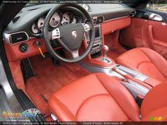 Porsche 911 Interior Color Codes Porsche 981 Cayman Export Import Interior Seatings Orange Tan