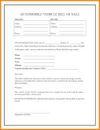 4 car sale receipt template uk parts of resume