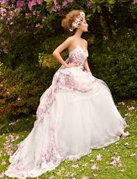 8 best floral wedding gowns images on pinterest wedding gowns