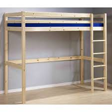 High Sleeper With Futon Loft Beds For Kids Childrens High Sleeper Beds With Wardrobe