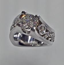 unique engagement ring settings engagement rings u2014 craft revival jewelers