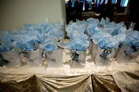 gift bags for weddings breathtaking blue wedding at the institute of chicago inside