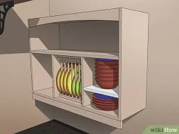 how can i organize my kitchen without cabinets 3 ways to arrange a kitchen without cabinets wikihow