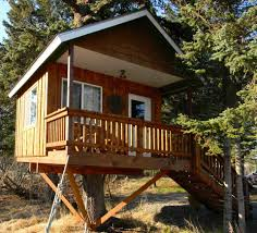 Real Treehouse The Treehouse Cabin U2022 Kenai Peninsula Suites