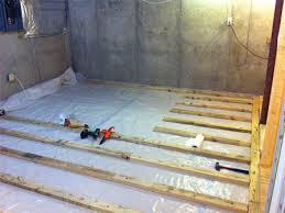 astounding design basement floor moisture barrier ideas subfloor