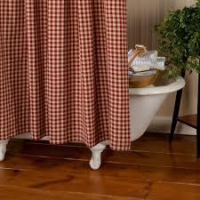 classic country check shower curtain sturbridge yankee workshop