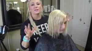 how does julienne hough style her hair haircut on blonde hair cut to a julianne hough style youtube