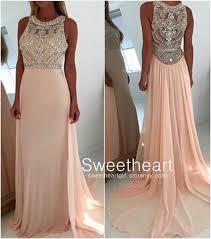 light pink graduation dresses sweetheart a line round neck light pink long prom dresses