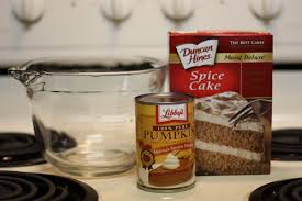 Best Pumpkin Cake Mix by Two Ingredient Pumpkin Muffins Diary Of A Working Mom