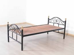 Single Bed Iron Frame Doctus Iron Frame Single Bed Buy And Sell Used Furniture And