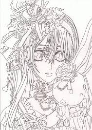 anime vampire coloring pages best coloring page site coloring home