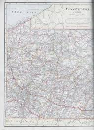 West Virginia Road Map by Pennsylvania In Old Road Atlases 1921 1925