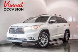 toyota highlander 2015 2015 toyota highlander xle v6 awd cuir toit mags low mileage never