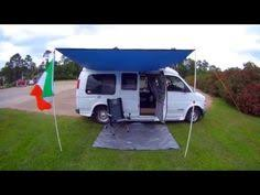 Bongo Tailgate Awning Van Life Custom Van Awning System How To Diy Van Canopy So