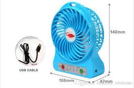 Portable Desk Air Conditioner Mini Small Rechargeble Battery Fan Cooling Portable Desktop Air