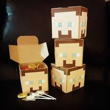 Minecraft Party Centerpieces by Could Make These Myself For The Centerpieces Birthday Party
