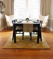 No Dining Room Coffee Tables Rug Under Dining Table Yes Or No How Big Is A 5x7