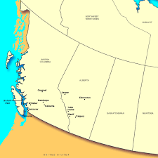 canadian map cities canada maps