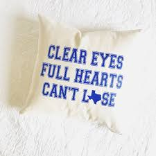 Home Decor Tv Shows by Friday Night Lights Tv Show Clear Eyes Full Hearts