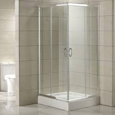 shower with glass doors 34