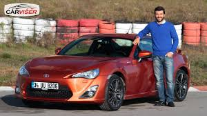toyota amerika toyota gt 86 test sürüşü review english subtitled youtube