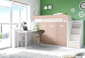 mezzanine bureau lit mezzanine noir avec bureau best of lit sureleve alinea high