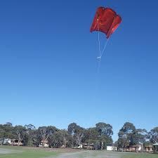 Barn Door Kite by Flight Report Soft Sled Kite Slides Upwards