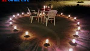 Candle Light Dinner Maldives Diaries A Surprise Beach Side Candle Light Dinner