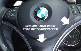 bmw 325i steering wheel bmw autocarbon carbon fiber steering wheel trim bimmian
