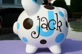 customized piggy bank 17 best images about my cricut on ceramics vinyls and