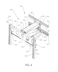 Tv Wall Mount Lowering Patent Us8724037 Mounting System Google Patents