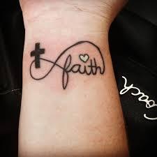 wrist tattoos cross my infinity faith cross tattoo tattoos pinterest faith