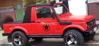 gypsy jeep buy 1995 maruti suzuki gypsy petrol buy used gypsy