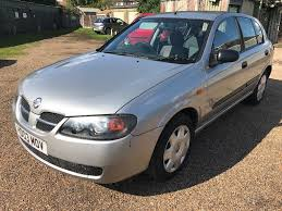 nissan almera s 1497cc petrol 5 speed manual 5 door hatchback 03