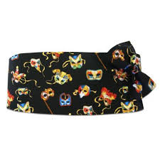 mardi gras bow tie david s formal wear mardi gras masquerade cummerbund and bow