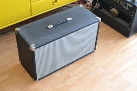 vintage fender 2x12 cabinet fs tube amp doctor 2x12 fender style cab w celestion century