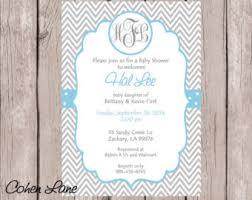baby boy baby shower invitation custom printable baby shower