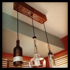 the amazing recycled bottle pendant light recycled bottles the