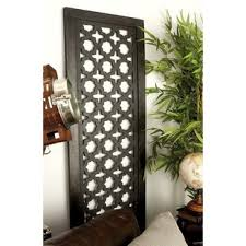 large carved wood panels wayfair