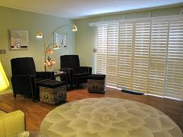Three Panel Sliding Glass Patio Doors by Track Shutters For Sliding Glass Doors